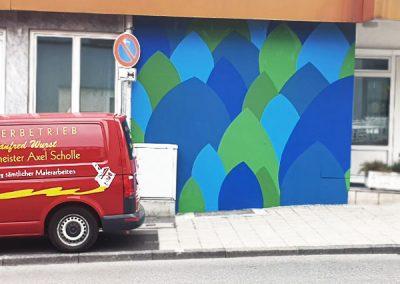 kreative Wandmalerarbeiten