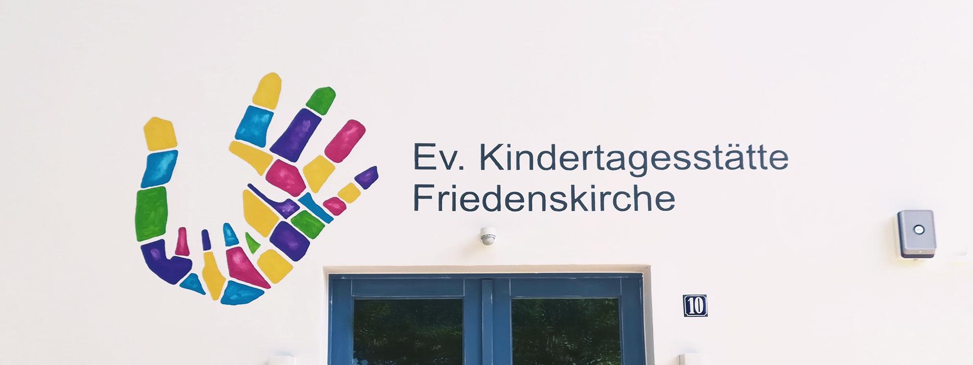 Wandmalerei Kindertagesstätte Friedenskirche